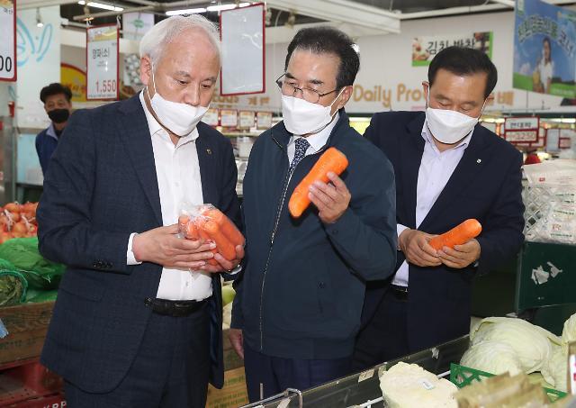 이성희 농협중앙회장, 제주지역 농업·농촌 현장경영 가속