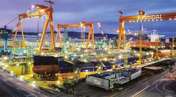 현대중공업, 동해에 그린수소 생산플랜트 구축···친환경 속도