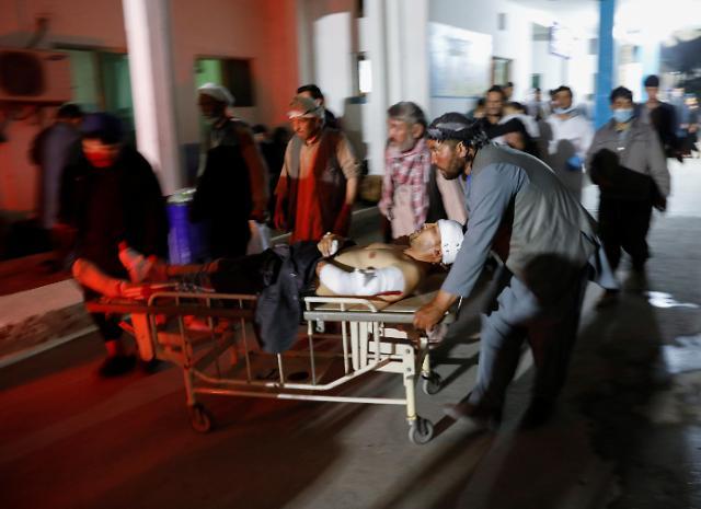 [슬라이드 뉴스] 카불 폭탄 테러 참혹한 현장...최소 55명 사망, 대부분 학생