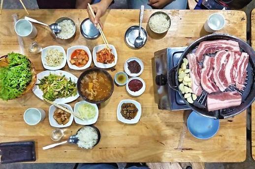 约饭压力大 韩4月在外就餐费用涨幅创22个月来新高