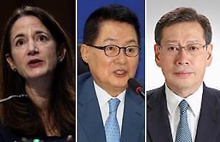 [3각 공조 회복 시동] ①한·미·일, 외교장관 이어 정보기관장 회담 전망...새 대북정책 추진 협력