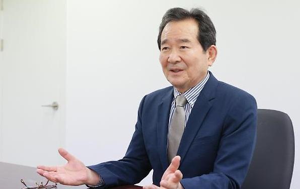 """[대선주자 인터뷰] 정세균 """"대선 시대정신은 혁신 경제·양극화 극복…한국의 바이든 될 것"""""""