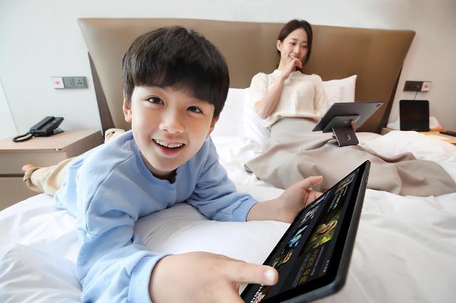 TV와 태블릿을 하나로...KT 올레tv 탭 출시