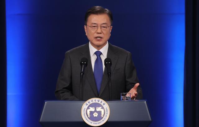 """문 대통령 """"남은 임기 1년, 불가역적 평화의 마지막 기회"""""""
