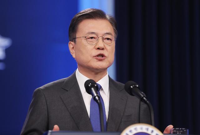 [포토] 문재인 대통령 취임 4주년 특별연설