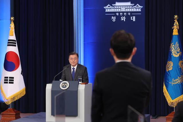 """문재인 대통령 """"김오수 정치적 중립 잘 지킬 것"""""""