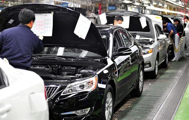 调查:韩国超八成汽车配件厂因芯片短缺陷经营困境