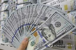 ウォン・ドル相場、1ドル=1120台に上昇