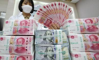 중국 위안화 환율 1달러=6.3위안 시대 코앞