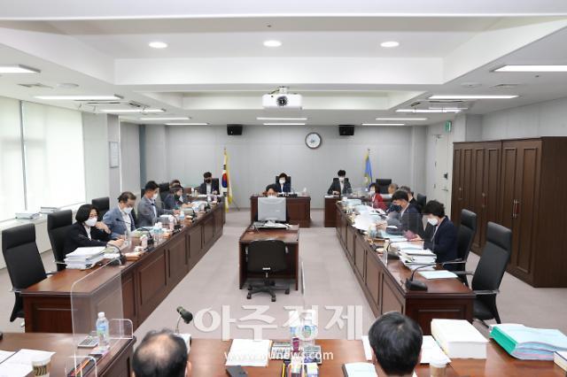 포항시의회 예산결산특별위, 추경예산안 본격 심사
