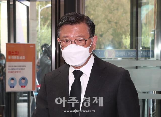 [속보] 박삼구 전 금호아시아나그룹 회장 영장심사 출석