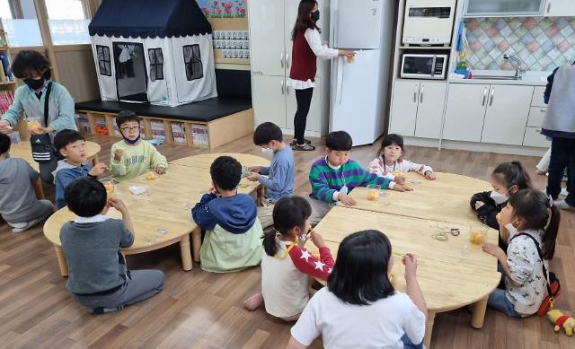 상주시, 초등돌봄교실 과일간식 본격 공급