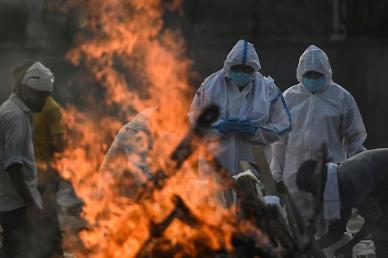 인도 코로나 사망자 또 최다 경신…모디, G7 정상회의 영국 방문도 취소