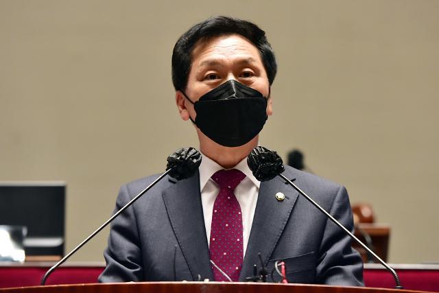 """김기현 """"문 대통령, 내로남불 만큼은 일관성 유지"""""""