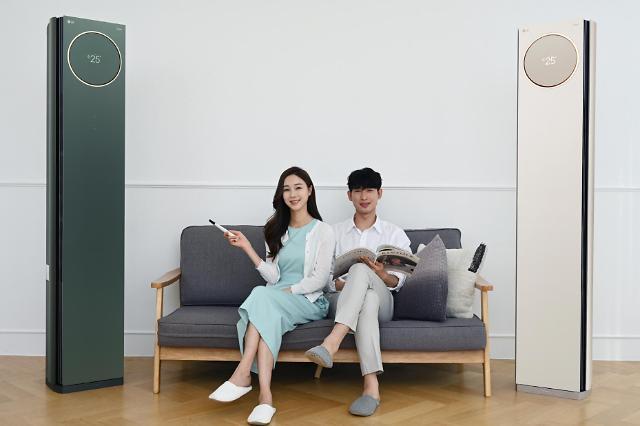 "LG '휘센 타워', 카밍 그린색 20일 출시…""컬러풀 오브제컬렉션"""