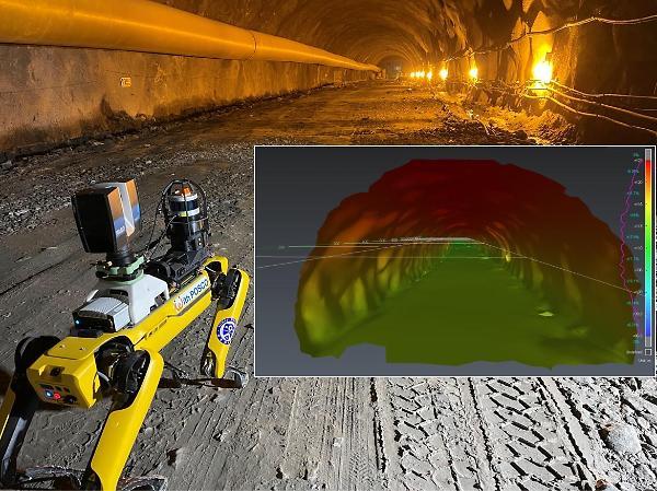 포스코건설, 자율보행 로봇으로 터널공사 안전·품질관리