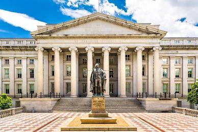 미국 재정적자 계속 최대 규모로 확대