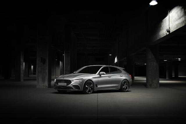 現代自、欧州戦略車種「G70シューティングブレーク」公開…下半期に発売