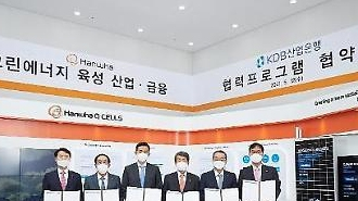 ハンファグループ、産業銀行と5兆ウォンの金融協力…グ…
