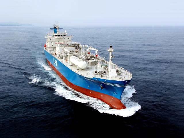 한국조선해양, KSS해운서 1830억원 규모 초대형 LPG 운반석 2척 수주
