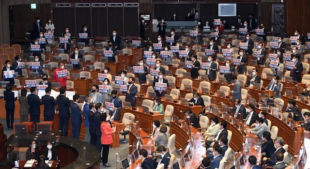 김부겸 국무총리 인준안 국회 통과...찬성 168표·반대 5표