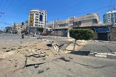 팔레스타인 주민 10만명 예루살렘에 모여 이스라엘 공습 규탄