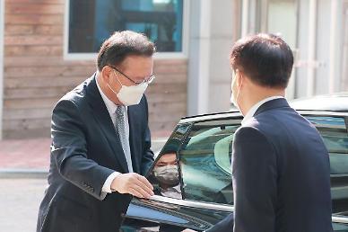 문 대통령, 김부겸 총리 임명안 재가…오늘부터 임기 시작