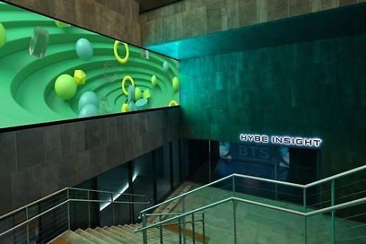 Bảo tàng âm nhạc Hybe Insight - Nơi thưởng thức âm nhạc bằng tất cả giác quan
