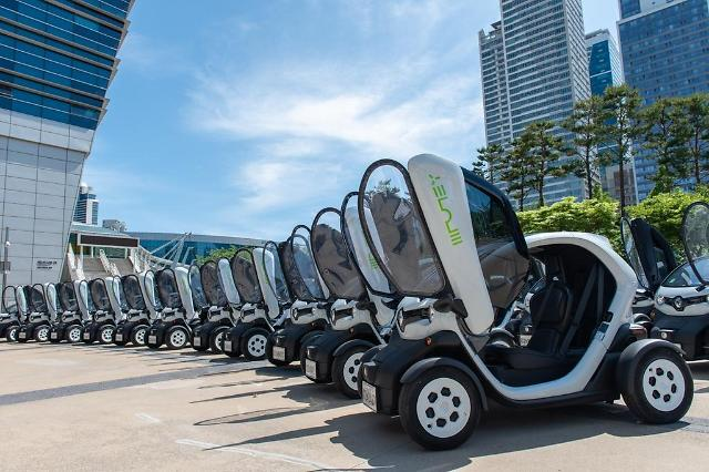Renault Samsung launches EV mobility service for Busan travelers