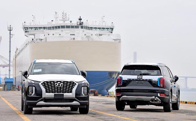현대차, 콩고에 팰리세이드 500대 수출…아프리카 시장 개척