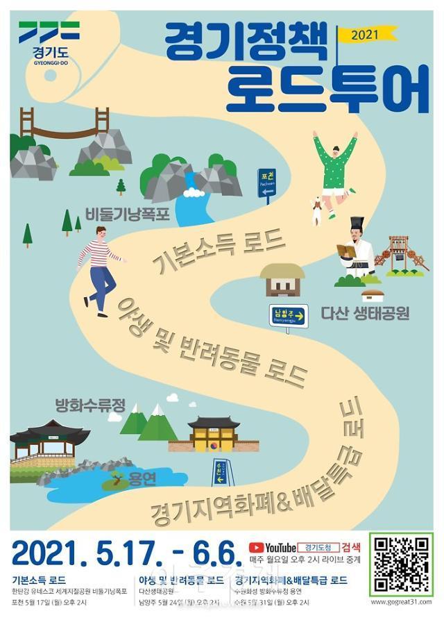 경기도, '경기 정책로드 투어' 스타트...포천 한탄강 지질공원 '첫발'