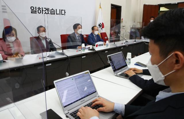 """김기현 """"김오수 청문회, 법사위원장 문제 먼저 해결돼야"""""""