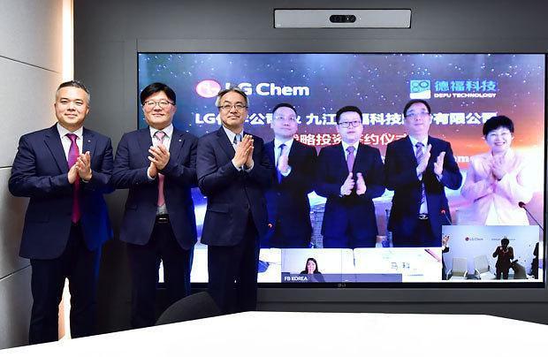 [NNA] LG화학, 中 동박 제조사에 400억원 출자