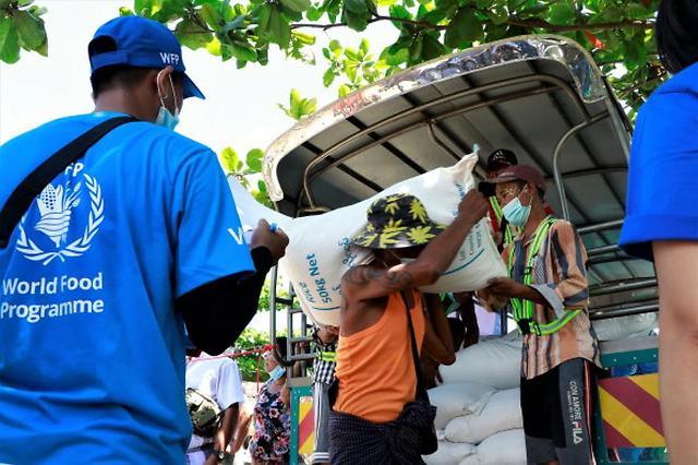 [NNA] 日 정부, WFP 통해 양곤 빈곤층에 식량 지원 실시