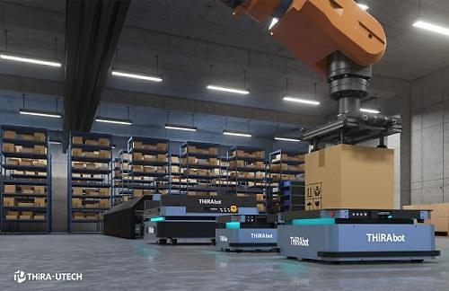 티라유텍, 2021 국제물류산업대전서 자율주행 물류로봇 티라봇 선보인다