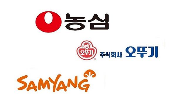 """""""코로나 기저효과""""…농심·오뚜기·삼양 1분기 영업이익 동반 하락"""