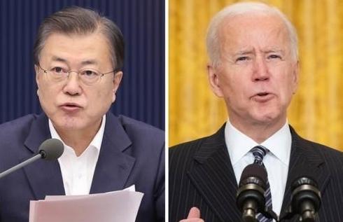 [속보] 문대통령, 21일 바이든과 정상회담…22일 SK이노 공장 방문