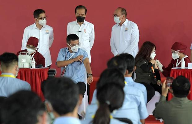 [NNA] 印尼 민간주도 백신접종 개시, 2만여개사 등록