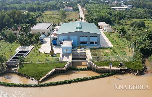 빈즈온 상하수도·환경사의 취수구 전경