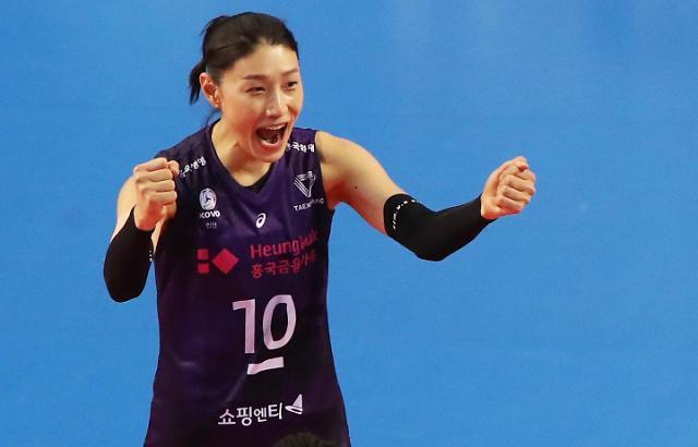 韩女排名将金软景时隔四年重返上海女排