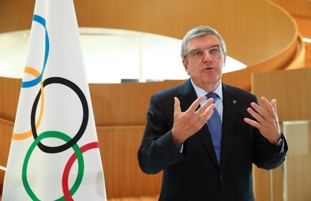 """""""일본 도쿄올림픽 예정대로 열겠다""""…바흐 IOC 위원장, 6·7월 연이어 방일"""