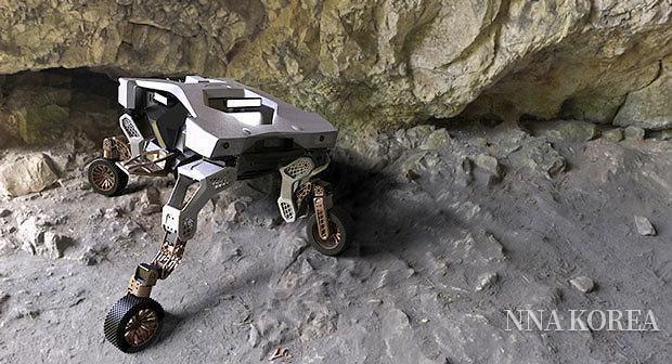 현대차,. 4륜구동 로봇 타이거