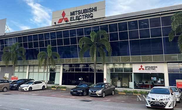 미쓰비시전기 세일즈·말레이시아의 외관