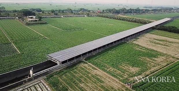 JRE가 인수한 핑둥현 태양광발전소