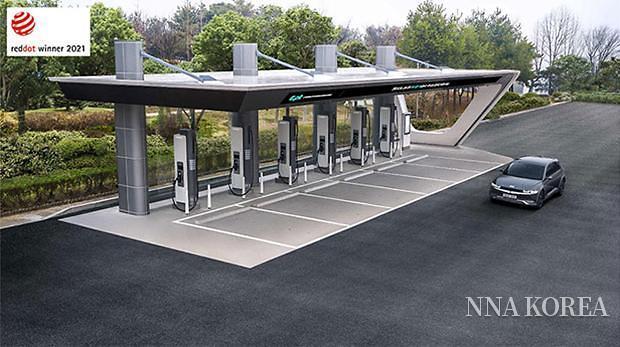 초고속 충전소 E-pit의 완성 이미지