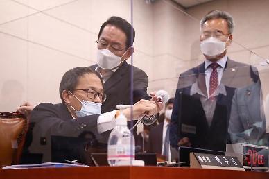 김오수 청문회 참고인에 서민·김필성...與 단독 채택에 野 즉각 반발