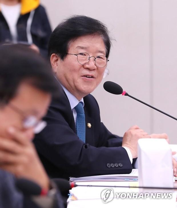 """박병석 의장 """"국민동의청원 30일 이내 5만명으로 완화해야"""""""