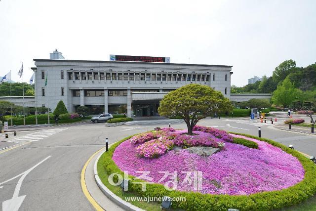[경기 의정부소식] 경기도 북부청 앞 지하 주차장 동측 출구 조성
