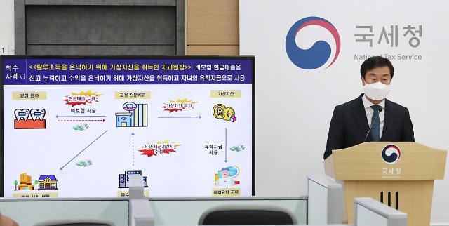 국세청,코로나 호황 업종 탈세혐의자 67명 고강도 세무조사 착수