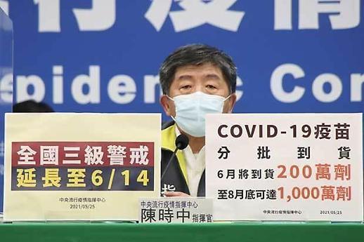 [NNA] 타이완, 코로나 경계단계 3급 내달 14일까지 연장... 격상계획은 없어